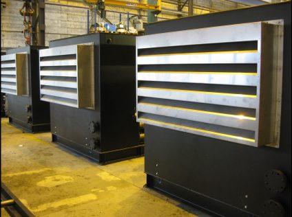 geluiddempende ventilatie set voor diesel motoren