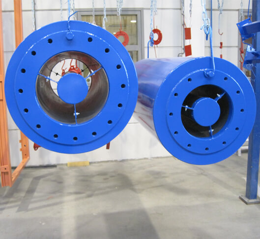 Cylindrical silencers
