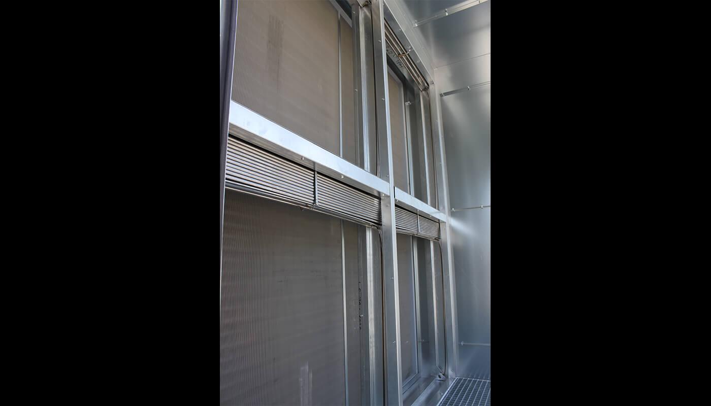 ventilatie technische ruimte