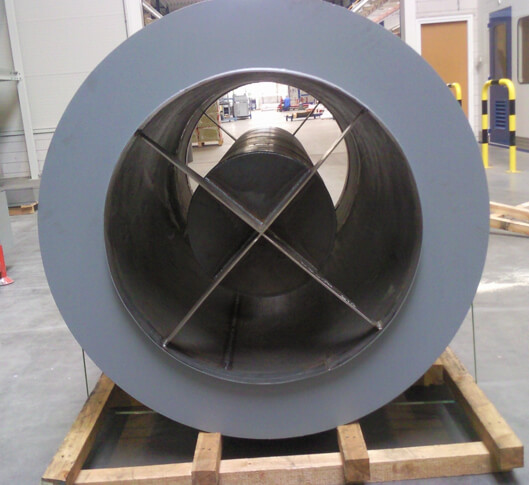 cilindrische demper met kern