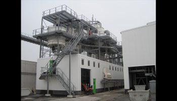 geluidsisolerende omkastingen voor zandfabriek