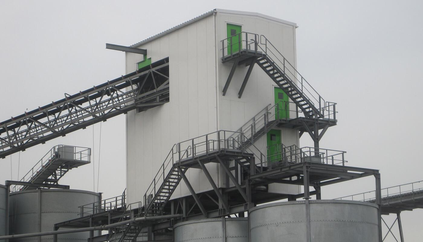Industriële geluidsisolerende deuren
