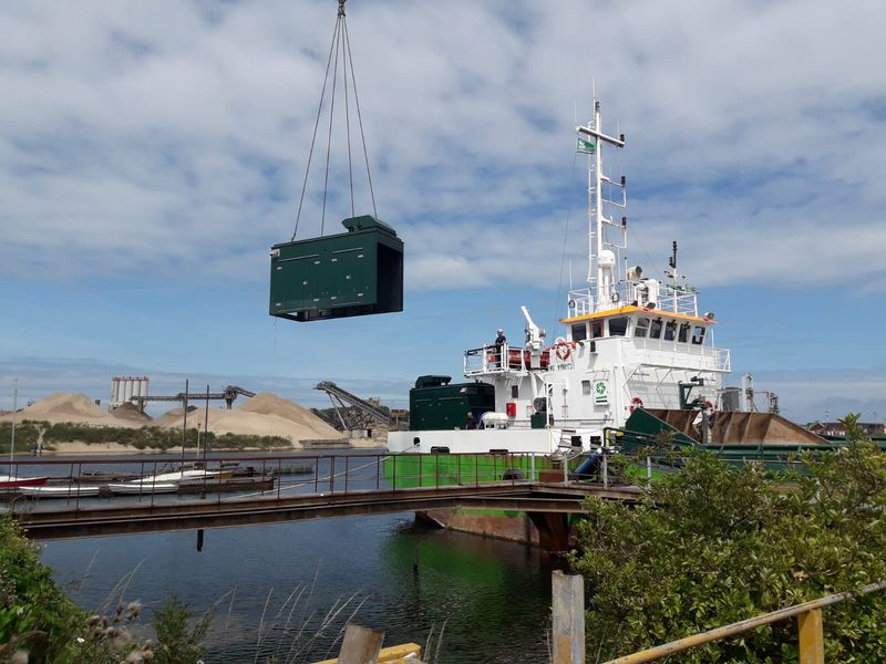 Akoestische verbetering omkastingen aandrijfmotoren schepen 1