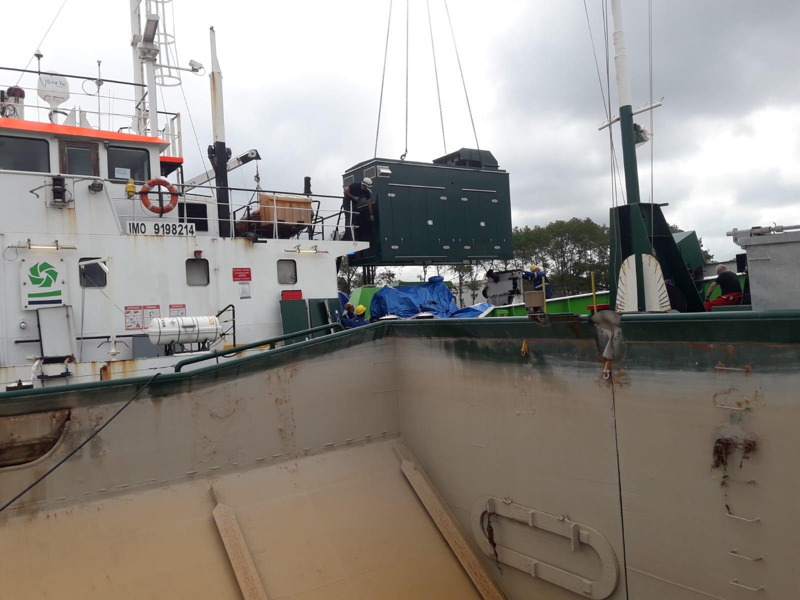 Akoestische verbetering omkastingen aandrijfmotoren schepen 3