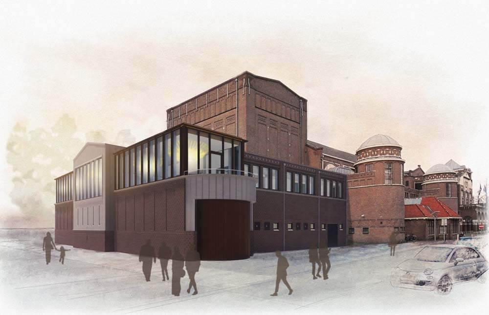 Concertgebouw-De Vereeniging Nijmegen achterkant