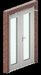 Dubbele deur Alara-Lukagro