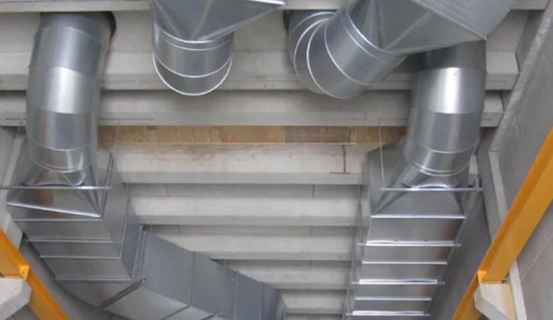 Ducting - KIEL CHP Plant