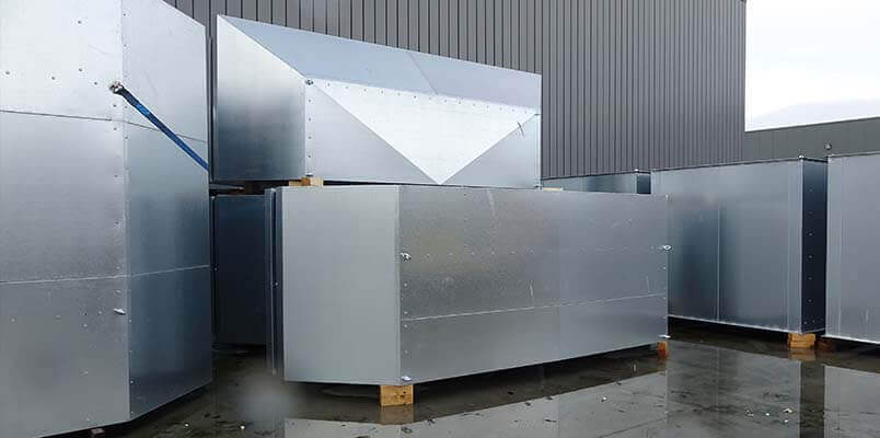 Omkasting inclusief Ventilatie