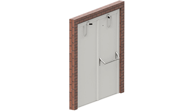 Soundproof doors