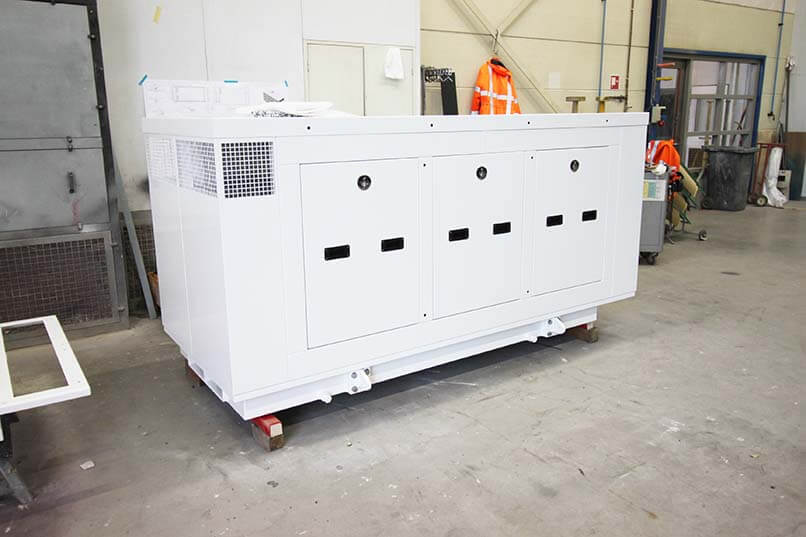 Geluidsisolerende omkasting Pon Power CAT C7.1 generator set