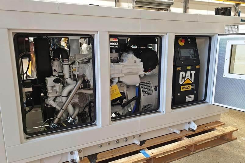 Geluidsisolerende omkasting Pon Power CAT C7.1 generator set