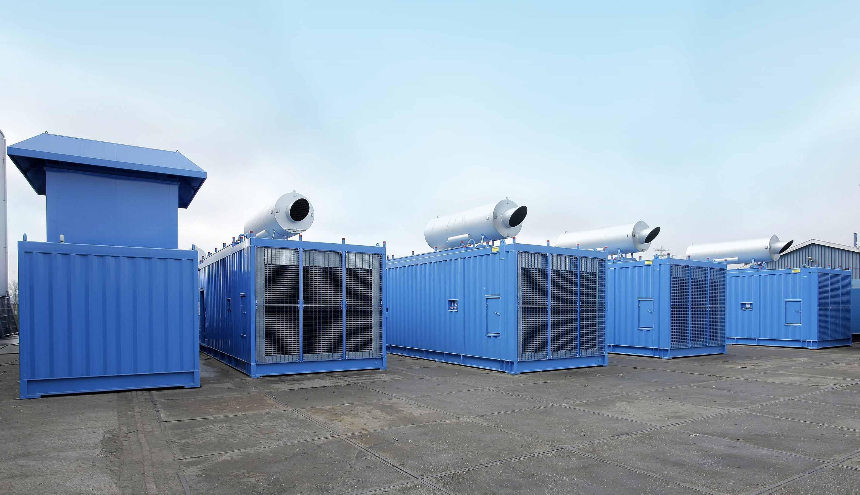 geluidsisolerende en brandwerende containers
