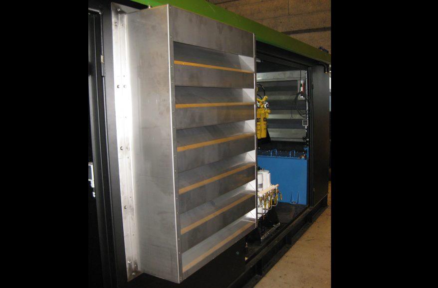 geluiddempende ventilatie set