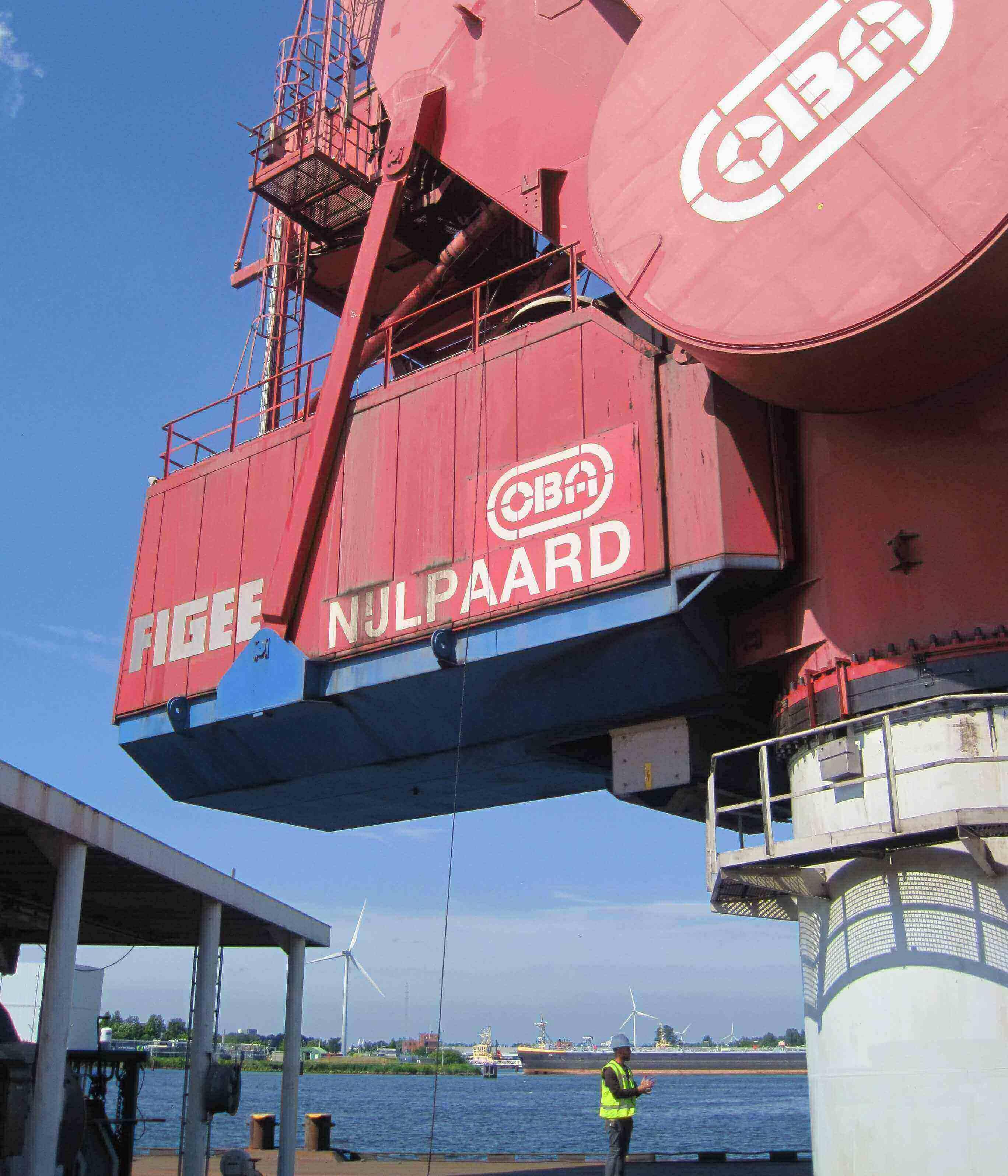 aanpassing container Nijlpaard