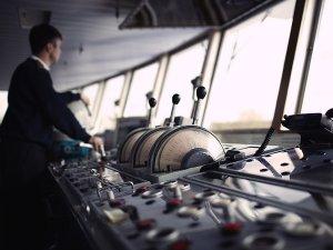 Marine schip brug