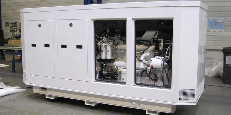 omkastingen generatorsets luxe jacht