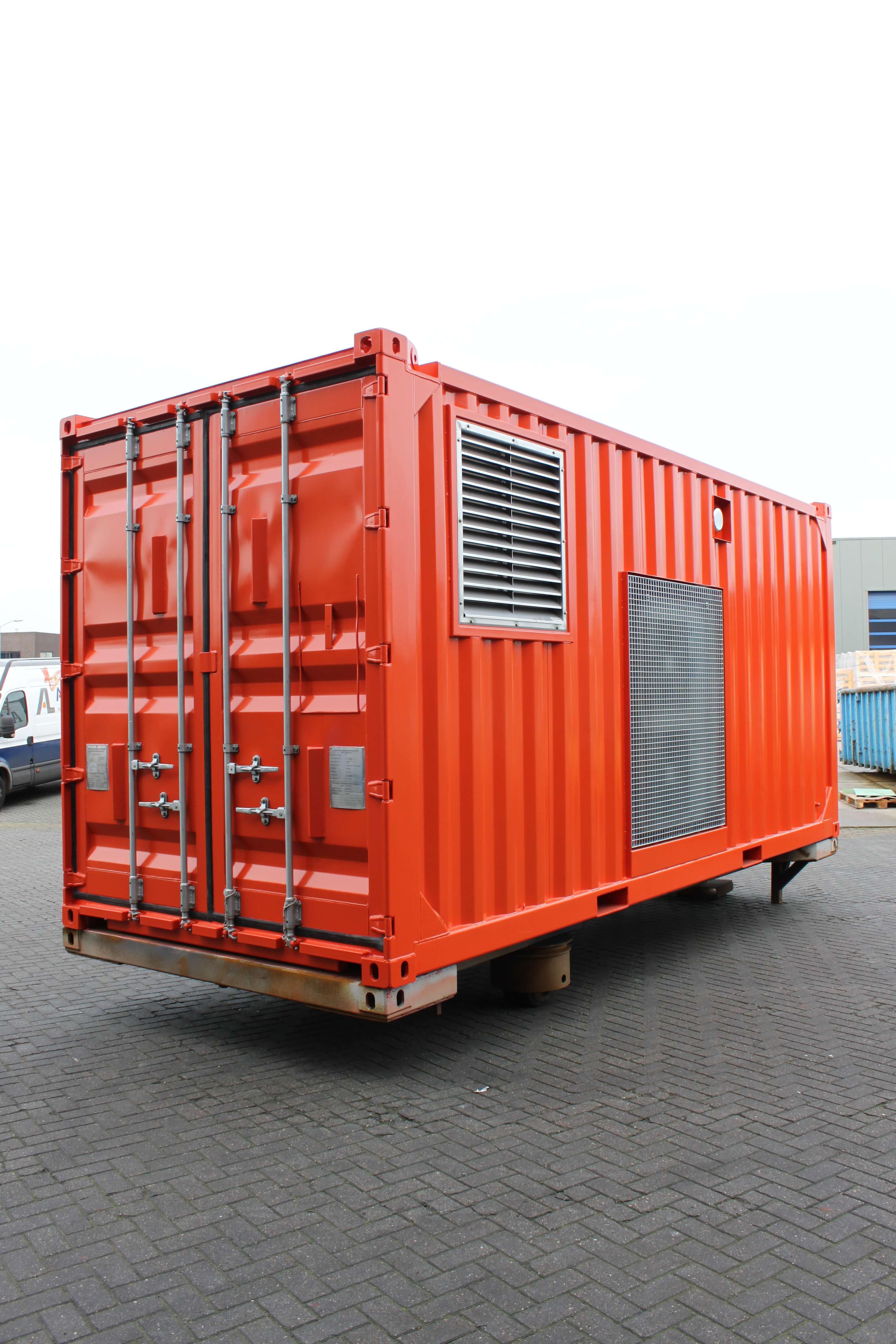 Offshore EPU container
