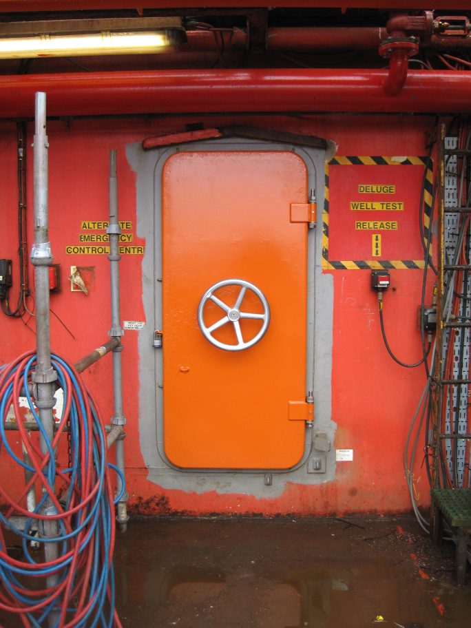 Renovation offshore doors Stena Spey 5- after