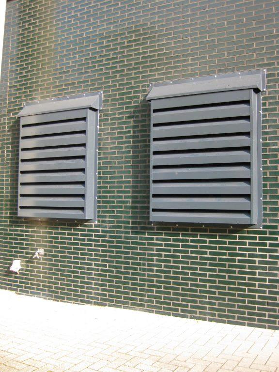geluiddempend ventilatierooster
