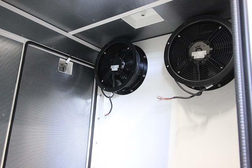 Ventilatie geluidsisolerende omkasting generator set