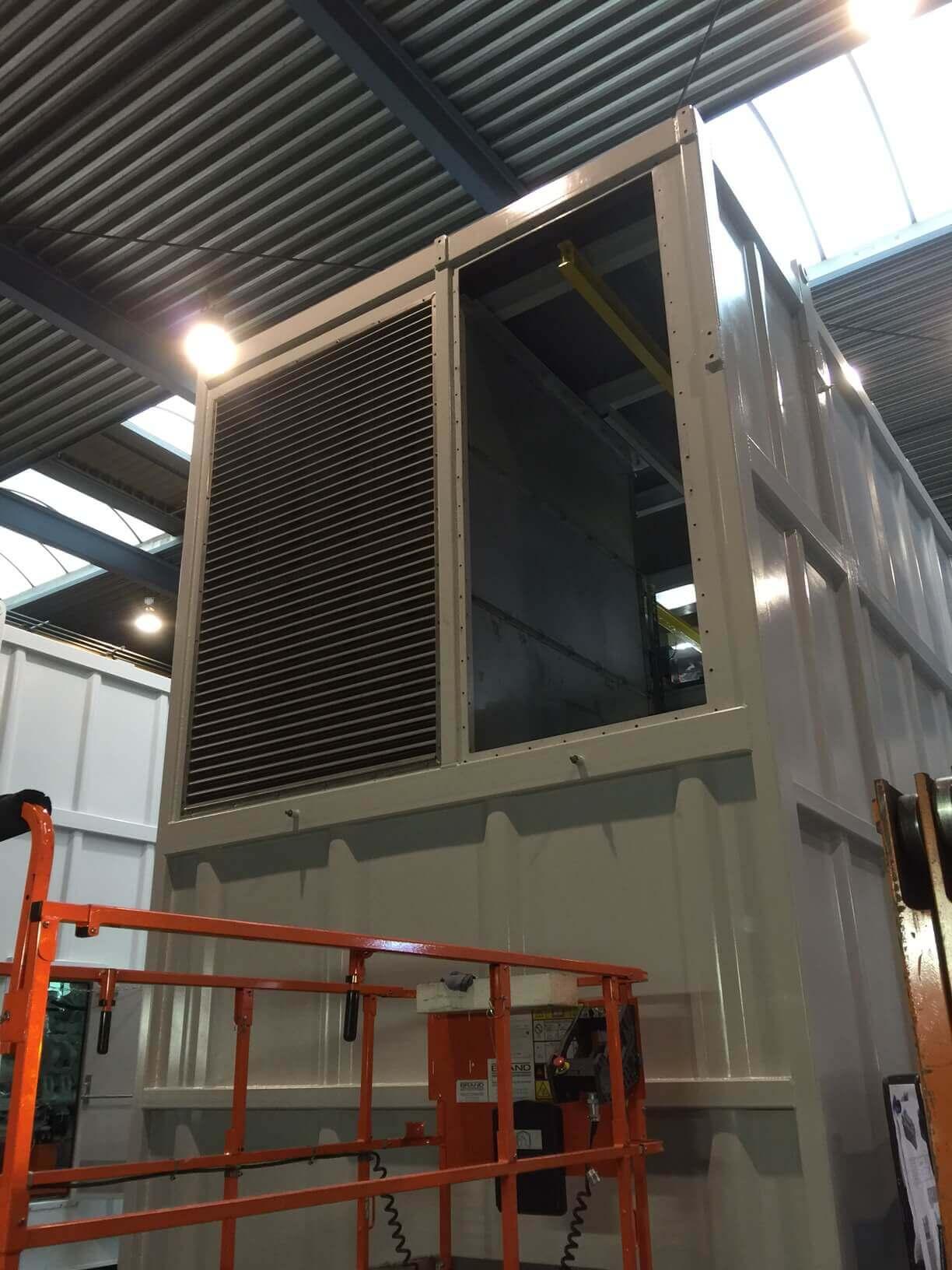 Ventilatie systeem FPSO