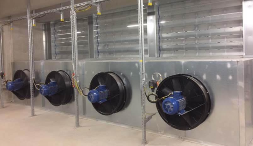 Ventilation - KIEL CHP Plant