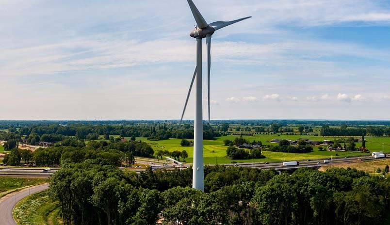 Werkzaamheden A1 Heijmans groene energie