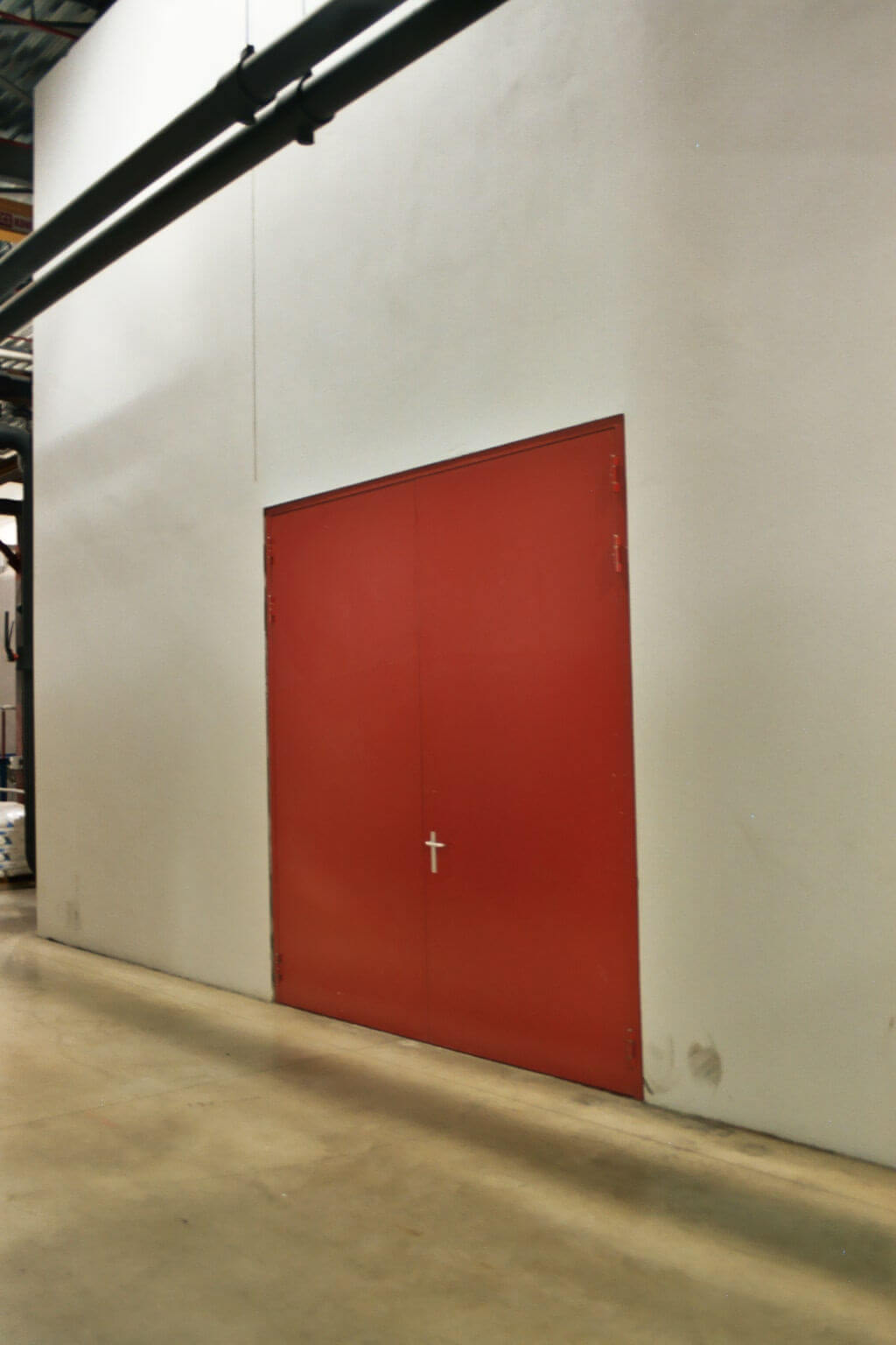 Dubbelvleugelige deur