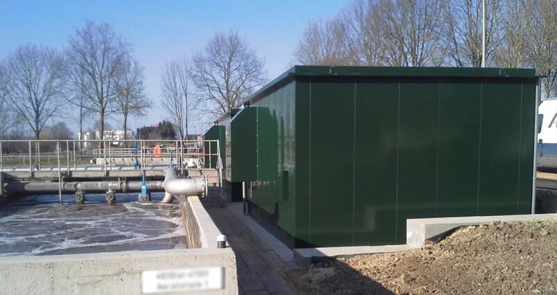 Omkasting compressor RWZI