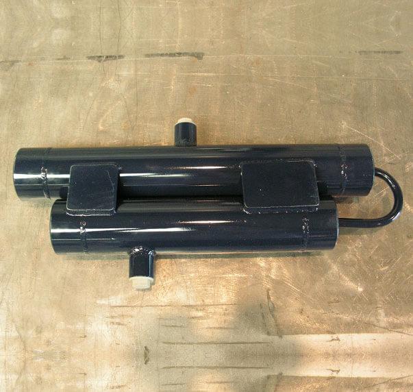 hydraulic pulsation silencer