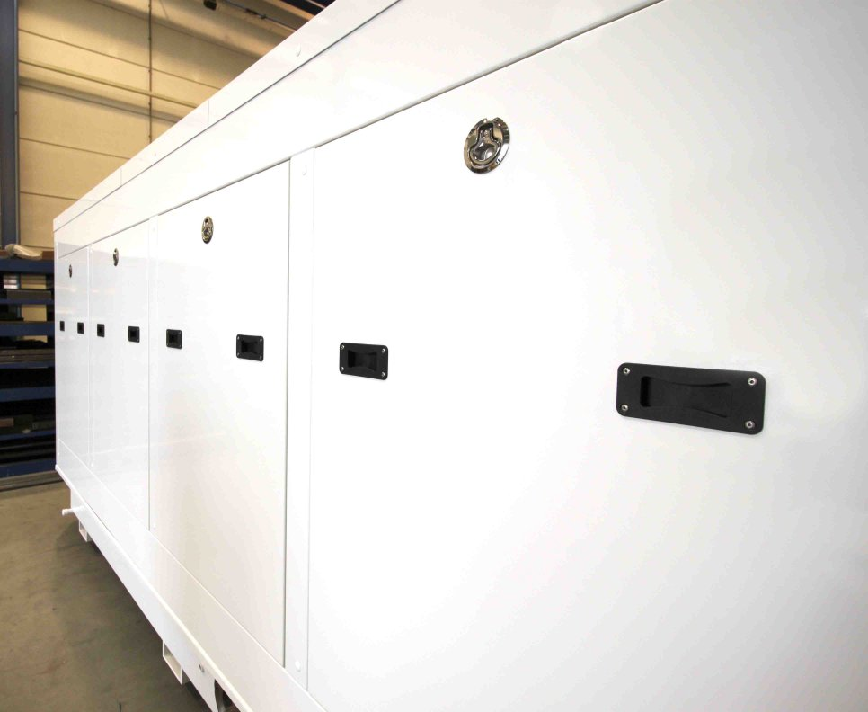 sound insulating enclosure genset mega yacht